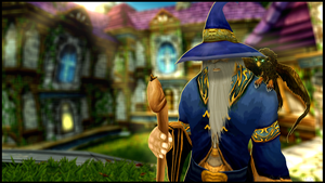 Old Wizard by Hamoth