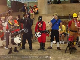 Team Fortress 2 cosplay 2008 by viscusregnum