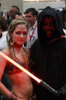 Darth Maul, and Leia by Warflight