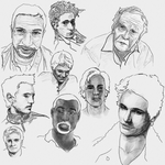 sketchesofdudes by diemshnb
