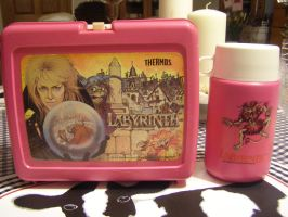 Labyrinth lunchbox and thermos by Poisonisnotgoodforu