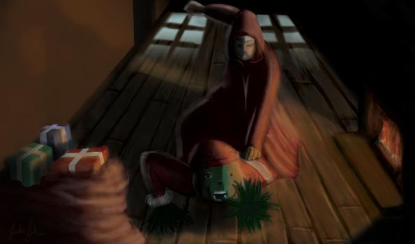 Epic-Santa-Competition by justproud2b