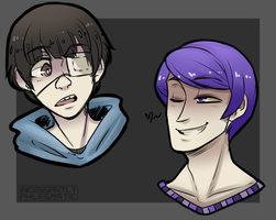 TG: Headshot Sketches by CluelessCaptain