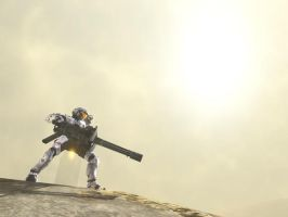 Me - Halo 3 by Hand-Drawn
