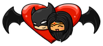 Batman And Wonder Woman Love by XxForeverJadedxX