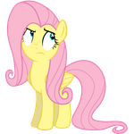 Fluttershy Roll Eyes by Yanoda