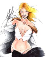 Emma Frost by LangleyEffect