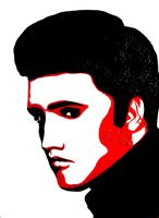 Elvis Presley by soffl