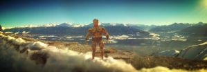 Jumping In Alps3 by fasterfaster86