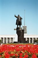 Lenin Monument by Amadou