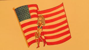The Female Spirit of America by AppleTart44