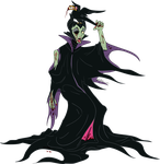 Maleficent Zombie - Disney Villans 3 of 5 by Furboz