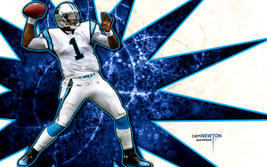 cam newton wallpaper 3 by jb-online