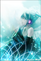 Hatsune Miku iphone wallpaper by DarKSunElite