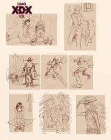 Compilation work XDX by PInoy01