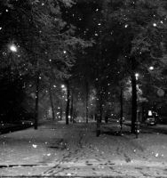 snowing by star37luminaire