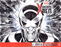 UXM Sketch Cover by csmithart
