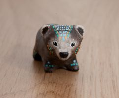 Bear totem by lifedancecreations