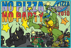 No Pizza, No Party. by FREAKfreak