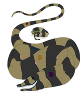 Egg Hatched - Patched Snake by ShadowInkAdopts