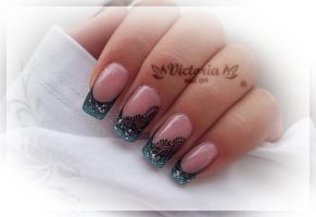 Nail art 207 (Gel nails) by ChocolateBlood