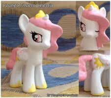 Young Princess Celestia custom by Antych