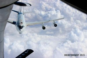 E-3 Sentry Approaching KC-135 by BronyBoomOp