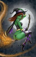 WitchieBoo Contest 2011 by DustinsART