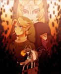 Twilight Princess: Link + Zelda + Midna by Zelbunnii