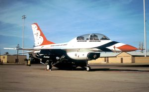 81-0815 as a Thunderbird Jet by F16CrewChief