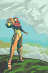 Samus Aran - Pass One by DarkFlame75