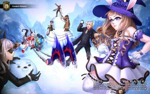 Tera Online (Winter Loading Screen Entry 2014) by Kamaniki