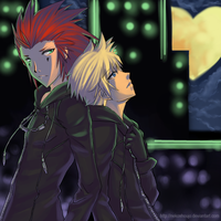 KH2: Under the Moon by Nekoshoujo