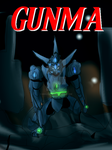 Gunma- issue 1 cover with text by Absolhunter251