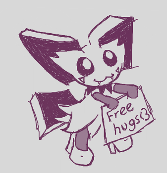 Free hugs from pichy by SacriAndFice