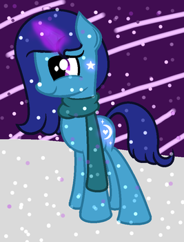 Luminous Moonlight Contest Entry by FillyArt