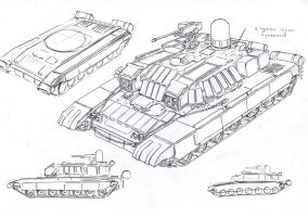 rocket tank by TugoDoomER