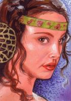Padme Sketch Card by Ethrendil