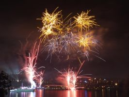 Fleet Review Fireworks 17 by BrendanR85