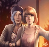 Life is Strange - Max and Chloe by Emeraldus
