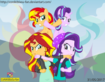 Sunset Shimmer vs Starlight Glimmer - EXPECTATION by CoNiKiBlaSu-fan