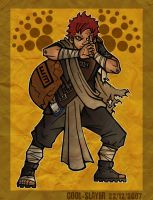 Sabaku no Gaara by cool-slayer