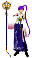 SSMU Angel DressUp as Yuna from FFX for Halloween by Angel-of-Love