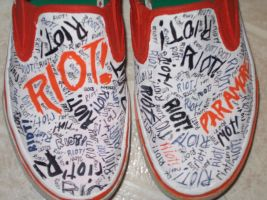 RIOT shoes by EmoTacoPenguin