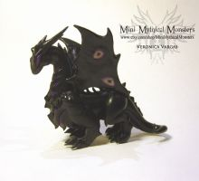 Malassa Polymer Clay Dragon by MiniMythicalMonsters