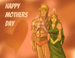 happy mothers day by frankenart