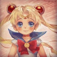 sailor moon by AirinNoSekai