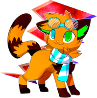 Art trade: Choco by Pand-ASS