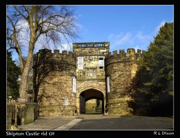 Skipton Castle rld 01 by richardldixon