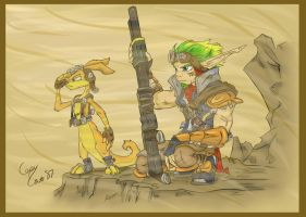 .My Jak Version_dust. by CopyCat87